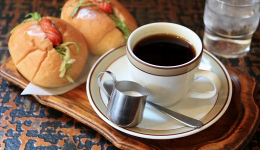 高岳『山路(やまみち)』シックな昭和純喫茶、安くてうまい軽食メニューもおすすめ!
