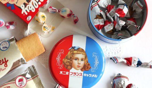 復刻ペコちゃん『西洋菓子舗 不二家 』栄三越OPEN!店舗限定キャラメル缶やプレミアム生ミルキーも!