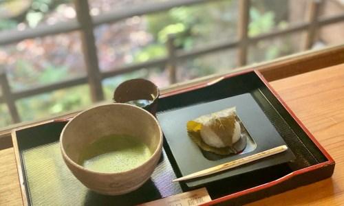 池下『数寄屋カフェ@爲三郎記念館』元料亭旅館の日本庭園を眺めながらお抹茶を、駐車場など