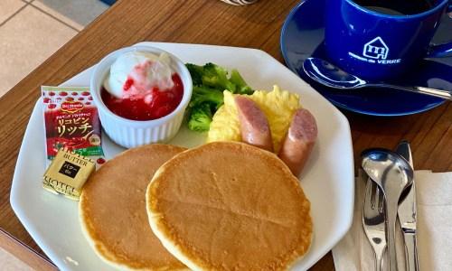 東山動物園カフェ『メゾン ド ヴェール』でモーニング!ブルーシールのアイスやクレープも!