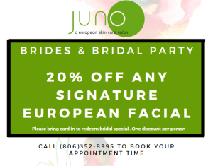 Brides and Bridal Party - 20% Off at Juno