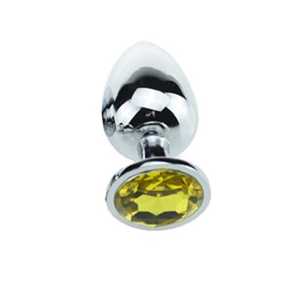 Crystal Jewelry Heart Plugs