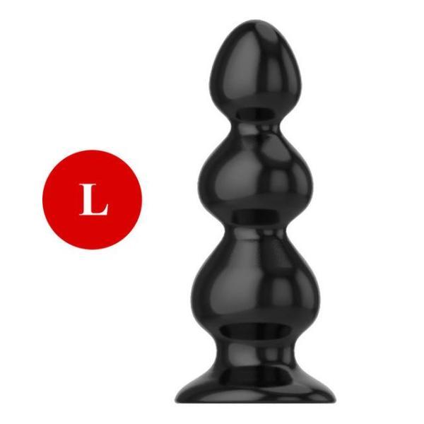 Adult Large Black Plug