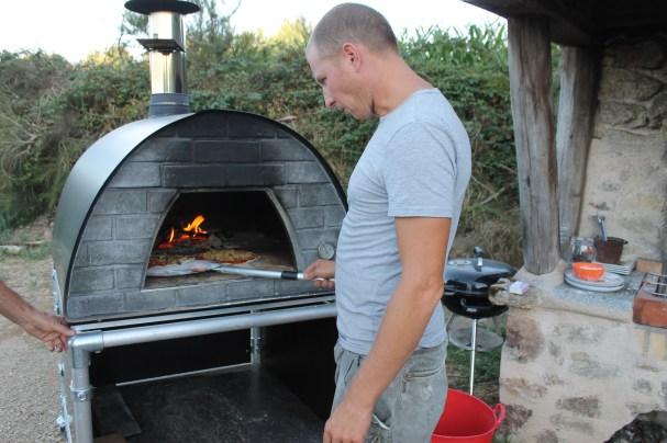 de pizzas smaken lekker