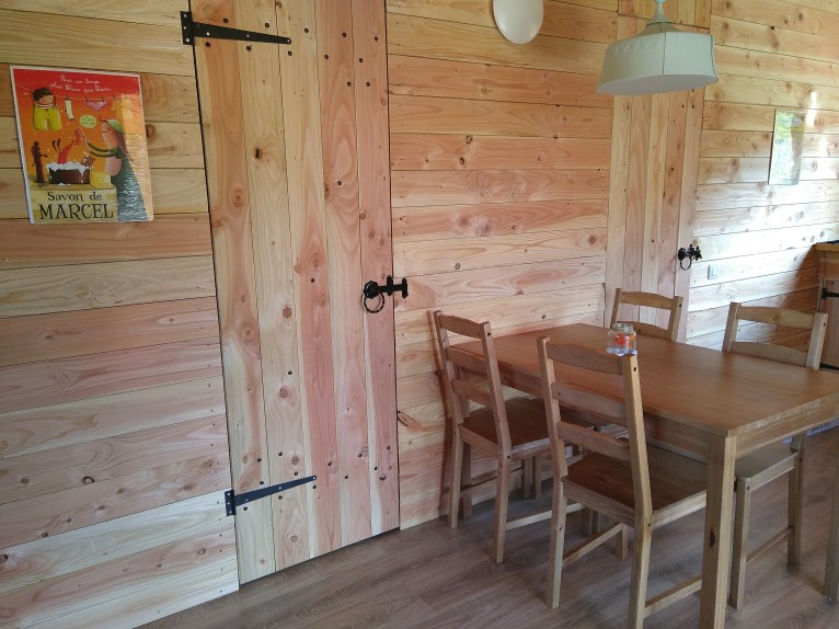 Woonkamer 2 eco-chalet