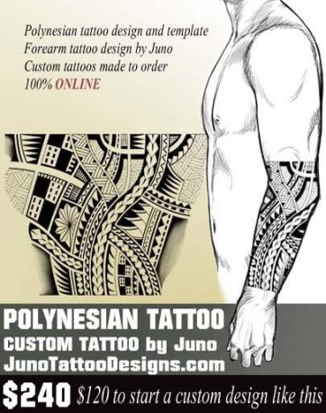 Polynesian Samoan Tattoos. Meaning & How To Create Yours