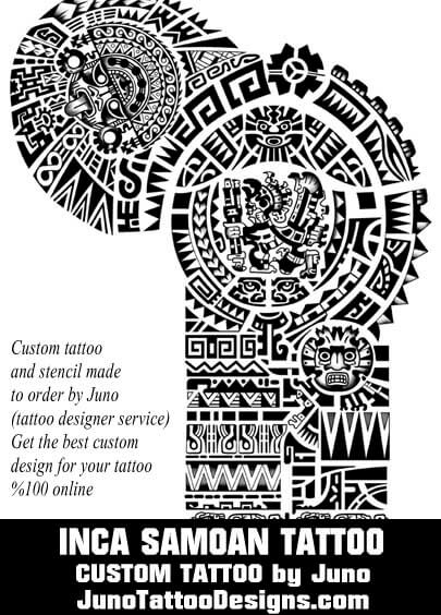 Polynesian samoan tattoos meaning how to create yours for O architecture brest