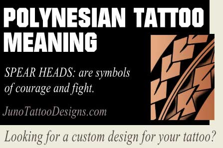 polynesian spearhead tattoo meaning, polynesian tattoos meaning, poolynesian symbol meaning, tattoo commissions