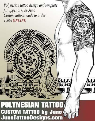 Custom Maori Tattoo Designs: Polynesian Samoan Tattoos. Meaning & How To Create Yours