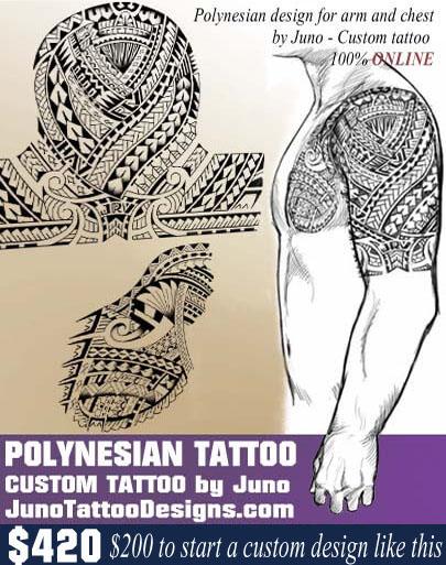 polynesian tribal tattoo, juno tattoo designs