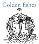 tibetan golden fishes