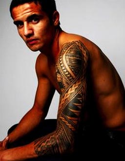 Tim Cahill tattoo