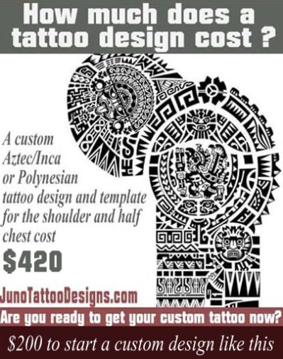 Aztec Tattoos  Templates Calendar Tattoo  Get Yours