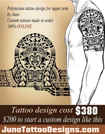 polynesian tattoo, polynesian sun tattoo, turtle tattoo, juno tattoo designs