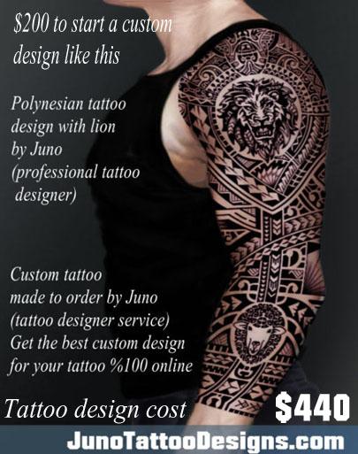 polynesian tattoo, lion tattoo, samoan tattoo, juno tattoo designs, tribal tattoo, arm tattoo