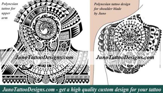 polynesian tattoo, samoan tattoo, arm tattoo, shoulder blade tattoo, juno tattoo designs