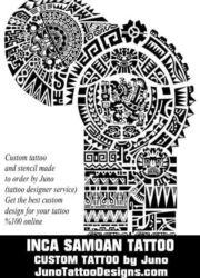 inca samoan non aztec polynesian tattoo by juno tattoo designs