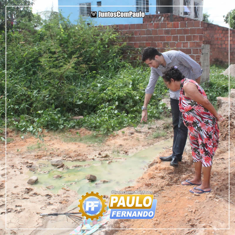 2 Paulo Fernando visita o Bairro de Jardim Fragoso
