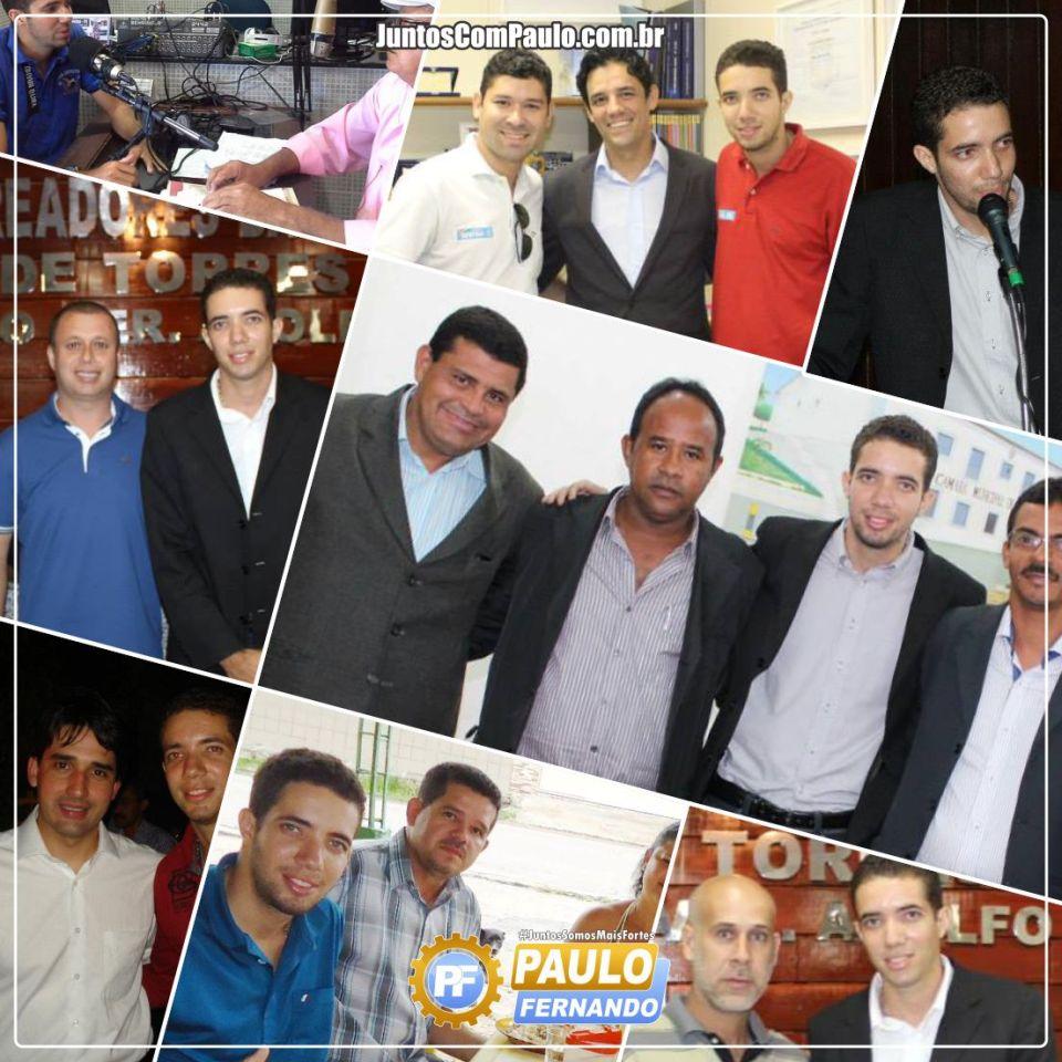 A expressiva popularidade de Paulo Fernando