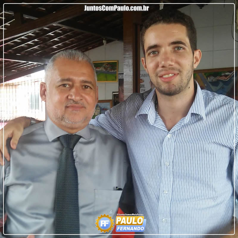 Paulo Uchôa apoia Paulo Fernando em Paulista