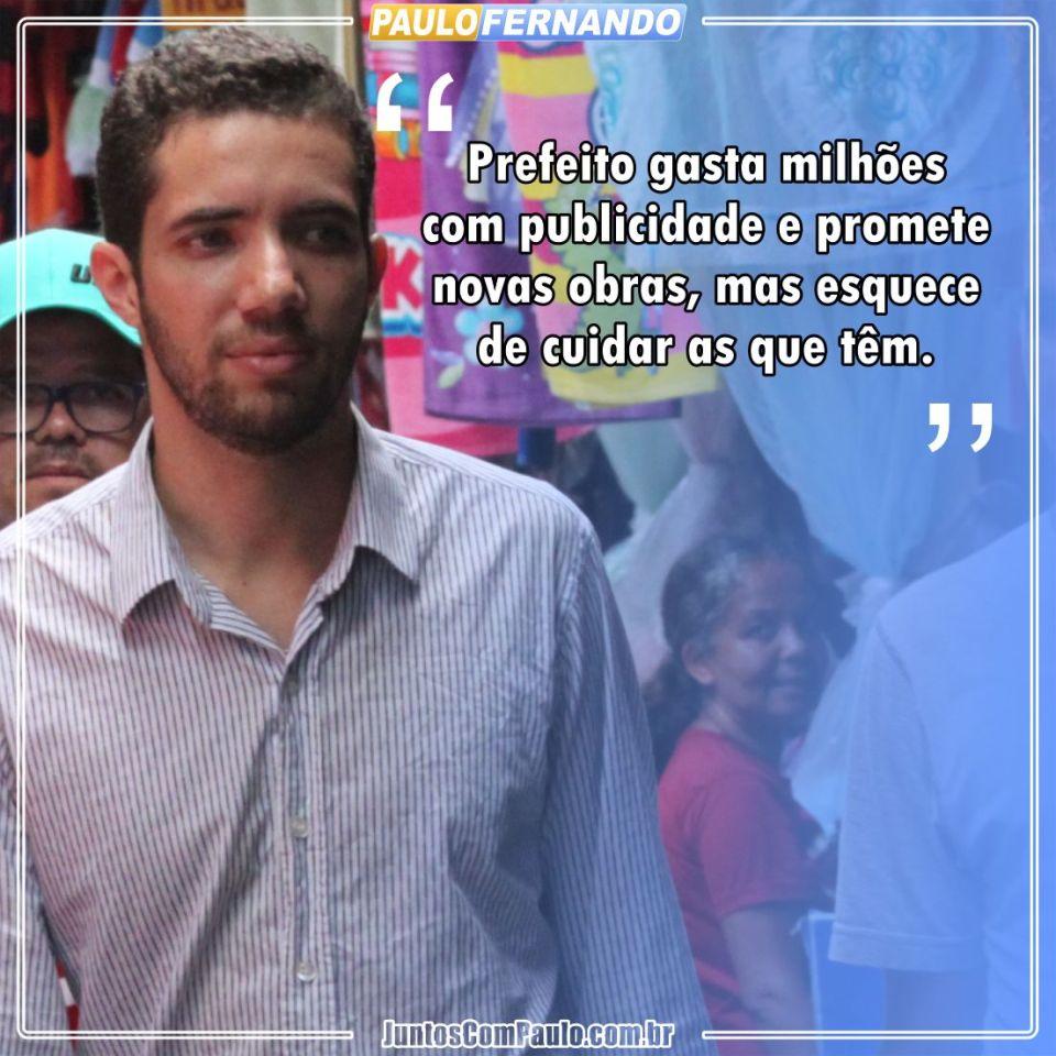 Opinião de Paulo Fernando