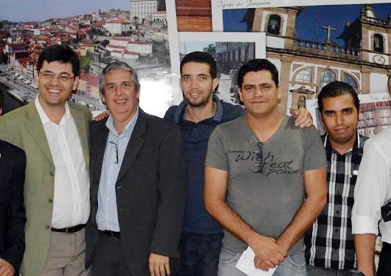 Paulo Fernando em reunião com Blogueiros
