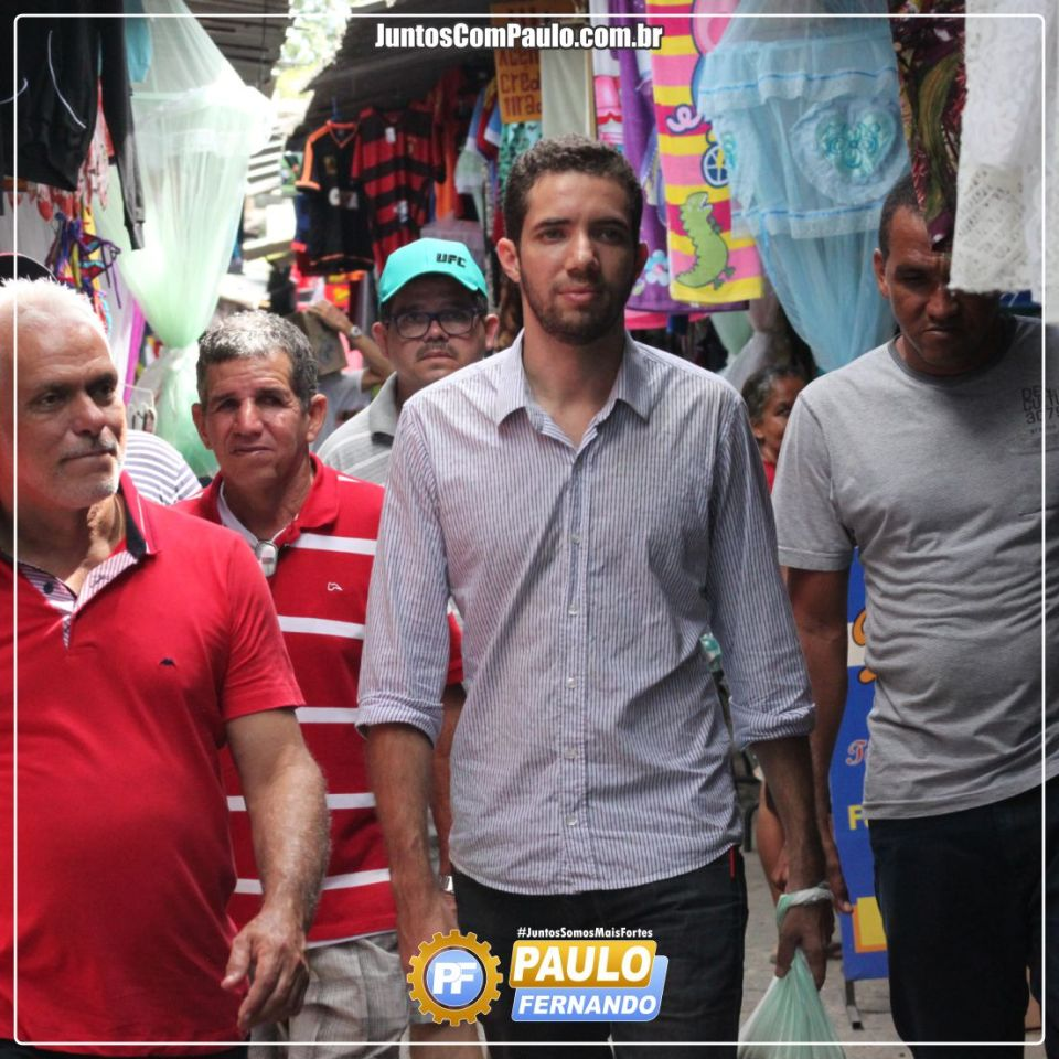 Paulo Fernando realiza visita à feira pública de Paulista  (1)