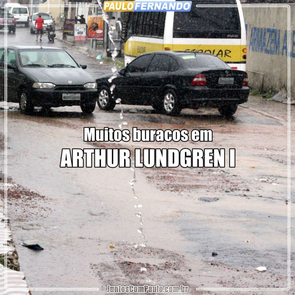 É assim que está o bairro de Arthur Lundgren I,