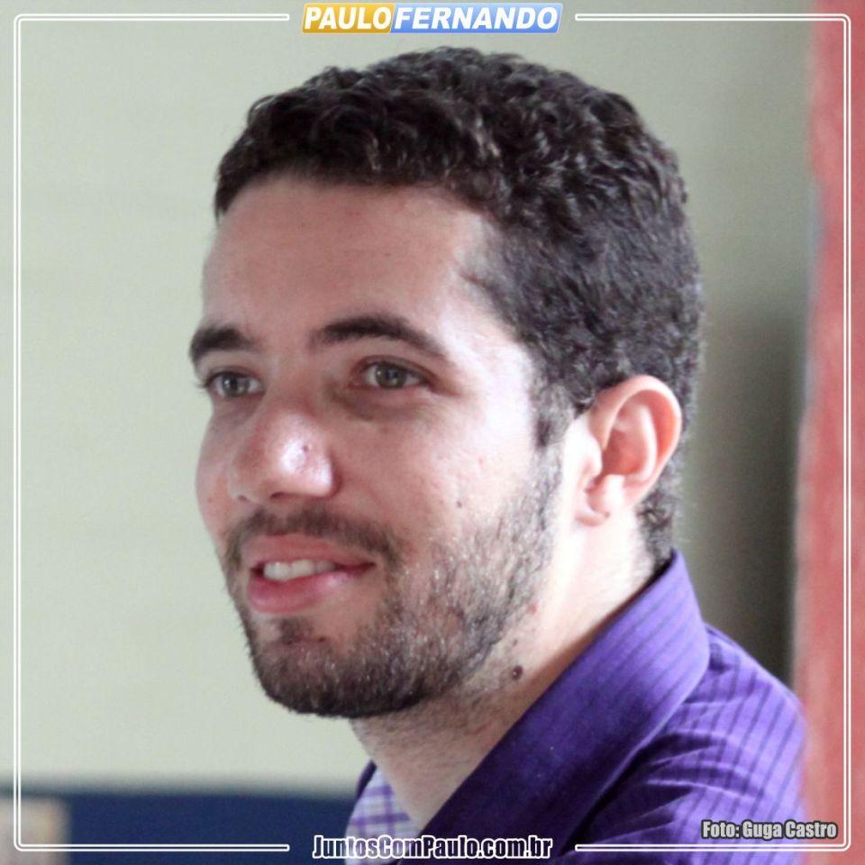 Paulo Fernando a esperança de Paulista