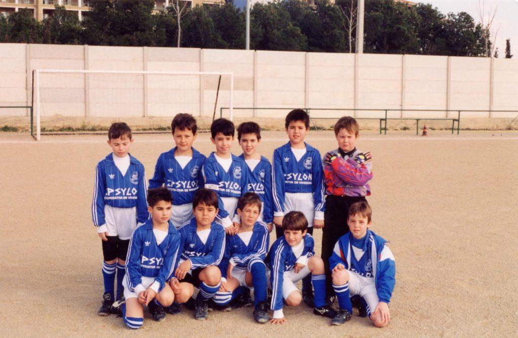 Plantilla Vadorrey BenjamínB 93-94