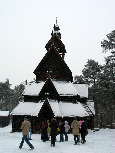Stavkirke i Gol - Norskfolkmuseum (Oslo)