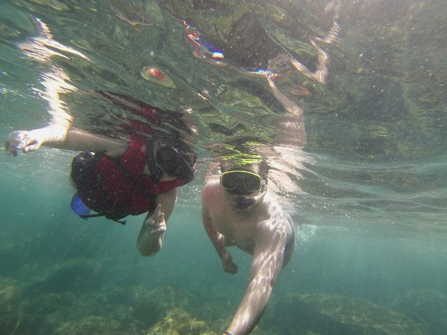 Mergulho de snorkel na Ilha das Couves em Ubatuba-SP!