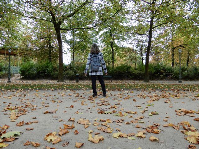 """Um passeio pelo """"Parc de Bruxelles"""" e uma reflexão sobre viajar sozinha (Bruxelas, Bélgica)"""