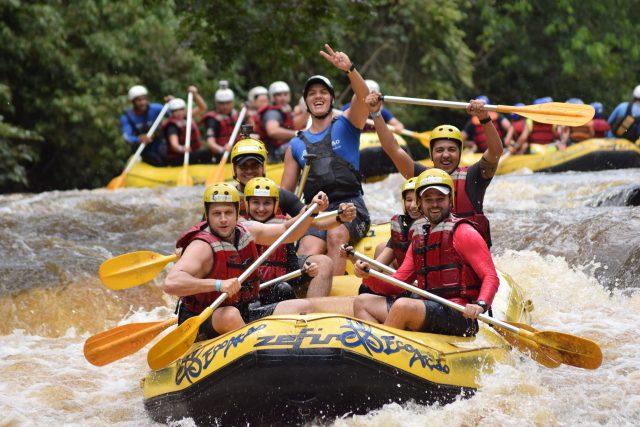 O que fazer em Brotas-SP: Aventura no Rafting