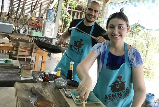 Aula de Culinária Tailandesa com a Benny's Home Cooking em Chiang Mai
