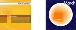 アルバム・ジャケット:Winter FallsとMarch by J.P.Experience