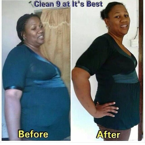 clean9beforeandafterpictures image 500x500 - Complete Weight Loss Program - Forever Living Clean 9