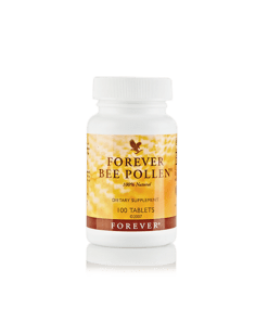 Forever Bee Pollen is all-natural and contains no preservatives, artificial colors, or flavors.
