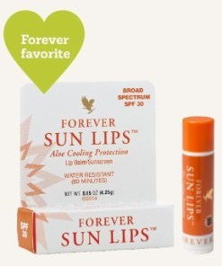 Forever Sun Lips helps to protect against both UVA and UVB rays