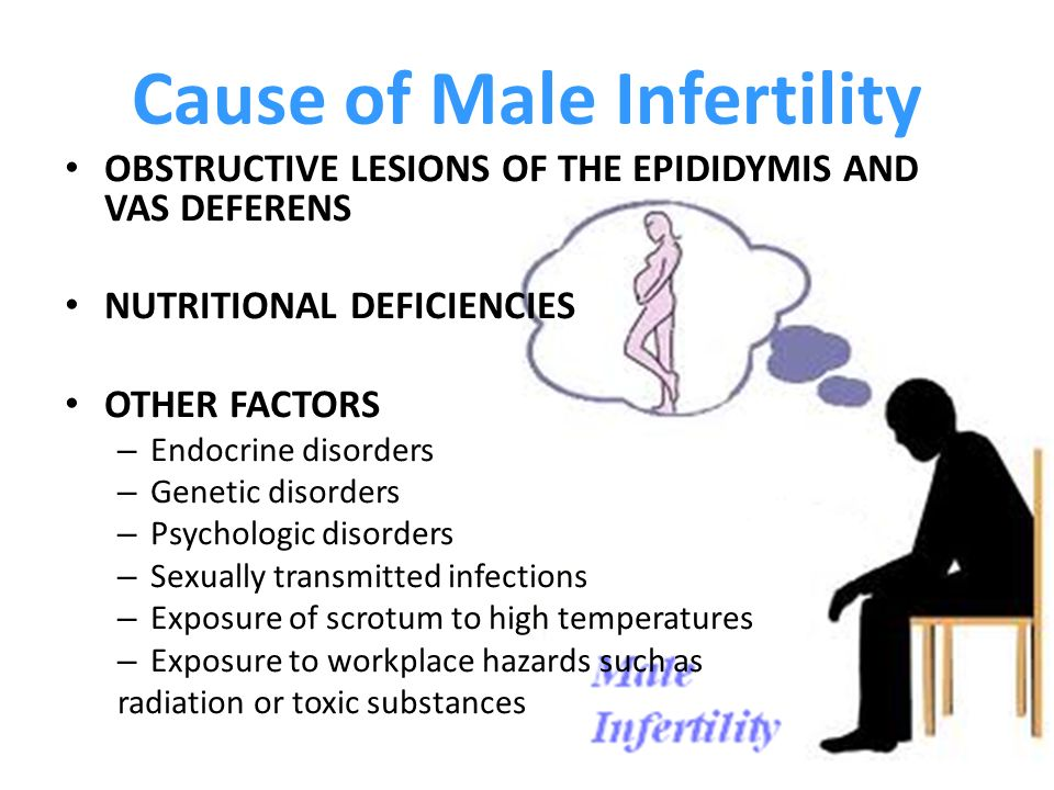 8 Common Causes of male Infertility Get Natural Fertility Tips Treatment