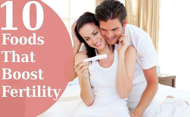 Foods That Boost Fertility woman fertility