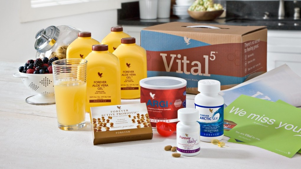 Forever Living offers the Vital5 to help support the Nutrient Superhighway.