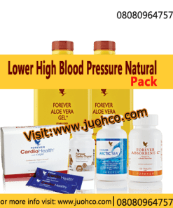 lower High Blood Pressure Natural Pack