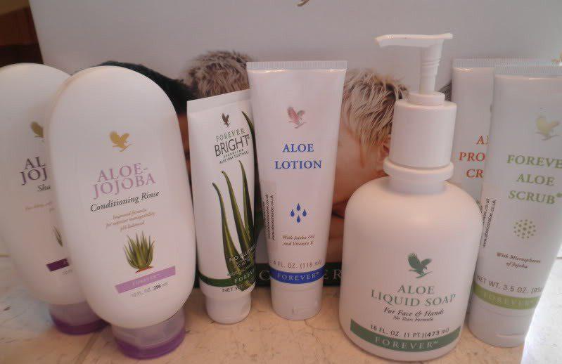 Review: Forever Living Aloe Vera, Aloe-Jojoba Shampoo, Aloe Propolis Cream