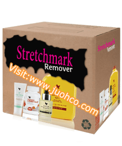 Stretchmark remover productr box