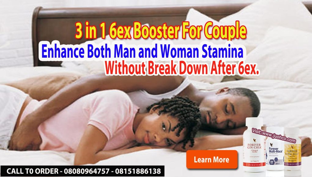 Natural Supplements  3 in 1 Sex Energy Booster For Couple.