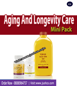 Aging And Longevity Care Mini pack for Ageing and Longevity