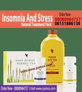 Insomnia and Stress Natural Treatments