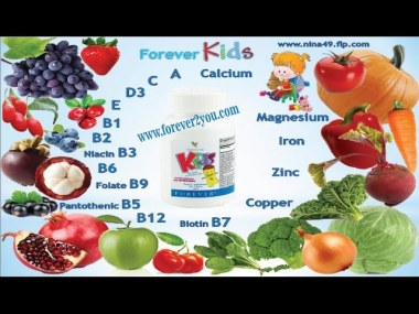 Forever kids is a chewable, fun, and delicious multivitamin product