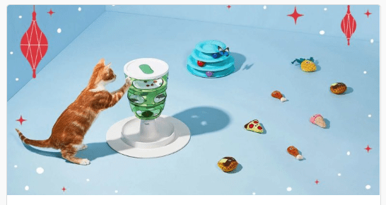 Holiday Gifts for Cats